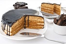Čokoládový dort, 670 g, průměr 18 cm