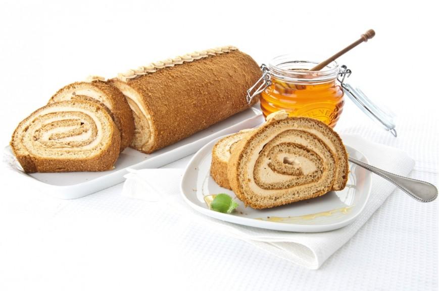 Medová roláda, 1100 g, délka 36 cm